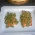 Pacific Northwest Coho Salmon with Pesto alla Trapanese